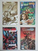 Creed 1 2 3 & 1 TMNT Complete Lightning Comics Set Series Run Lot 1-3 & 1 VF/NM