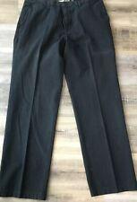 MEN'S OLD NAVY BLACK CLASSIC LOOSE STRAIGHT LEG PANTS  - SIZE 36/34