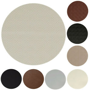 ROUND Table Protector Heat Resistant Felt Cream, Black, Beige, Brown Heavy Duty