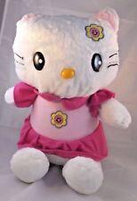 "Hello Kitty Plush Doll Sits 15"" Tall"