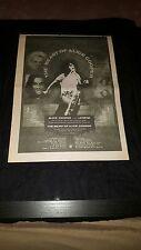 Alice Cooper The Beast Of Alice Cooper Rare Original UK Promo Poster Ad Framed!