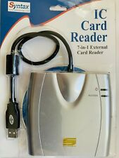 Syntax 7 in 1 Ic Card Reader Usb - Silver
