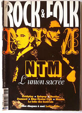 Rock & Folk n°493 du 9/2008; NTM/ Coldplay/ Beatles/ Shades/ Subpop/ DAmned