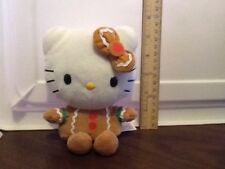 Sanrio Hello Kitty as Gingerbread Girl Plush Toy