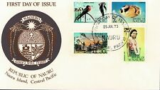 NAURU - ILLUSTRATED FIRST DAY COVER - 1973 - W 354