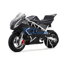 FREE SHIPPING WHITE 500 WATT KID ELECTRIC MINI BIKE MOTORCYCLE 36V DB40E_W