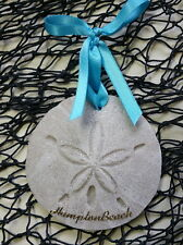 HAMPTON BEACH Sand Dollar Made with and Tropical Beach Ornament