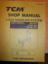 Manuals books in compatible equipment maketcm compatible tcm forklift service manualload handling sys vm39ffg30c6fd30c7fg30t6 fandeluxe Choice Image