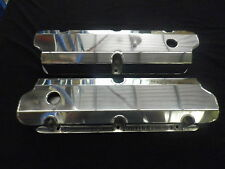 VALVE COVERS FABRICATED ALUMINIUM FORD FE 332-352-360-390-406-410-427-428