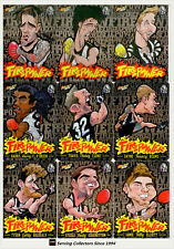 2013-2015 AFL Champions Firepower Caricature Card Club Collection Collingwood(9)