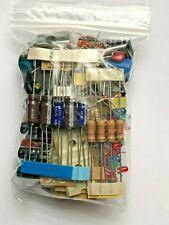 Electronic Grab Bag Mixed Lot Of Components Caps Resistors Switch Led No Pulls