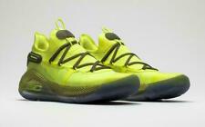 Under Armour UA Curry 6 Coy Fish 3020612-302 Yellow Mens Sz 8.5 Basketball shoe