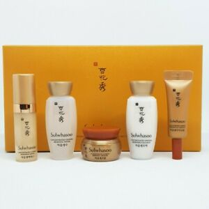 Sulwhasoo Concentrated Ginseng Renewing Basic Kit Miniature 5 Item Set K-Beauty