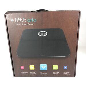 NEW/OPEN BOX Fitbit Aria Wi-Fi Smart Scale - Black FB201B