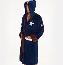 Captain America Dressing Gown / Bathrobe (Mens bath robe civil war affinity wars