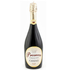 Prosecco Novelty Wax Candle Champagne Wine Bottle Real Size Party Decor Gift