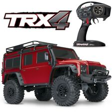 Traxxas 82056-4 TRX-4 Scale & Trail RC Truck 4WD RTR Land Rover Defender RED