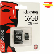 TARJETA MEMORIA 16GB KINGSTON MICROSD 16 GB MICRO SD ORIGINAL MOVIL