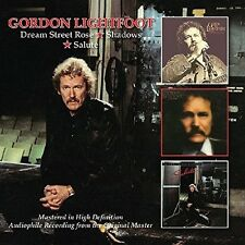 Gordon Lightfoot - Dream Street Rose/Shadows/Salute [New CD] UK - Import