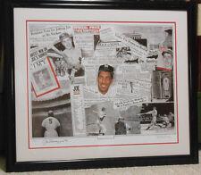 "Joe DiMaggio Signed Robert Simon's ""Joe DiMaggio Legacy"" Lithograph #18/1000 JSA"