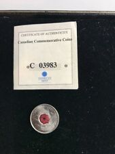 AMERICAN MINT CANADIAN COMMEMORATIVE COIN POPPY QUARTER COIN (a)