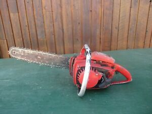 "Vintage HOMELITE XL AUTOMATIC Chainsaw Chain Saw with 15"" Bar"