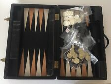 T Anthony backgammon set made in England with lock and key