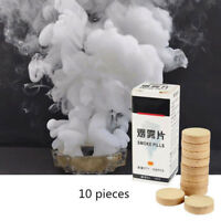 10pcs Smog Cake White Fog Effect Photography Props Advertising Film Stage Decor