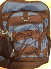 Pottery Barn Teen Gear Up Classic Backpack New Rugby Stripe Blue Navy No Mono