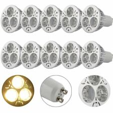 10 X DEL Spot Ampoule 6 W gu10 360 Lm Super Lumineux Lampe Lumière Luminaire Blanc Chaud xl204