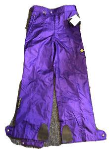 Descente Men's Ski Pants Size 38x32 purple New old Stock - NOS - NWT - RARE VTG