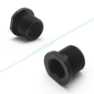 Barrel Thread Adapter Made 5.56 to .308 1/2 x 28 ID to 5/8 x 24 OD Black New 1pc