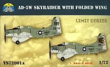 Skale Wings 72001A 1:72nd AD-5W SkyRaider with folded wing Limited edition kit