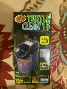 Zoo Med TC-30 Turtle Clean 15 External Canister Filter For Aquatic Turtle NEW