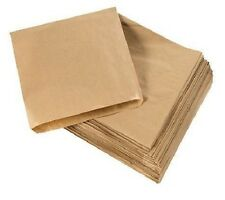 Greaseproof Paper Bag Disposable 1W 200Pk Takeaway Pie Sandwich Bags Cake Boxes