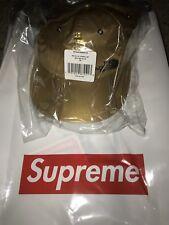 Supreme North Face Gold Metallic 6-Panel Hat