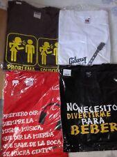 5 camisetas divertidas talla XXL