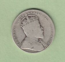 1906 Canadian 50 Cents Silver Coin - Good