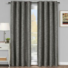 Galleria Blackout Thermal insulated Stripe Window Grommet Curtain [ One Panel ]