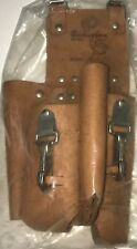 Buckingham 4 Pocket Double Back Holster w/ (2) 2-Way Knife Snaps Tool Pouch #826