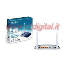 ROUTER TP-LINK TD-W8960N WIRELESS N MODEM 300Mbps LAN ADSL WIFI ANTENNA RETE