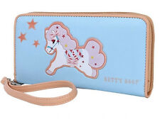 Original Betty Boop cartoon pony pattern Zip Around Long Wallet Purse