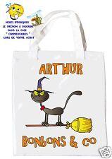 sac halloween shopping sac à bonbons sac à cadeaux  réf 02