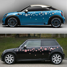 Car Stickers 20 Peel&Stick flowers,16 colour available vinyl decal