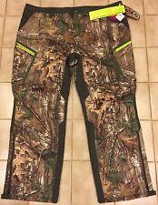 Mens Under Armour Hunting Pants UA HUNT Storm Mossy Oak Loose 44/32 ~ $180
