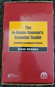 In-House Counsel's Essential Toolkit Committee on Corporate Counsel 6 Out of 7