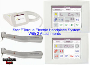 STAR E-Torque Electric Dental Handpiece System (WITH 2 ATTACHMENTS)