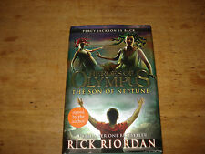 Heroes of Olympus: The Son of Neptune,RICK RIORDAN,SIGNED COPY HARDBACK.FIRST ED
