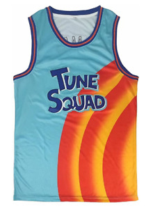 Space Jam Tune Squad A New Legacy James #6 Basketball Jersey S-XXL Stitched