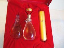 Two HALSTON COUTURE Pure Parfum Perfume 1/8oz MINI New in Box Rare  2 two